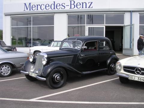 Stora Mercedes-Benz träffen i Skövde den 28 till 30 juni