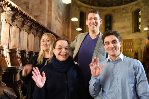 Fyra nya präster till Lunds stift