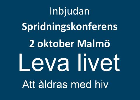Välkommen till kostnadsfri konferens om hiv & åldrande, 2 oktober!