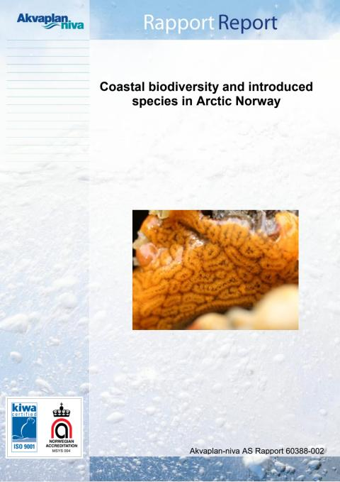 Akvaplan-niva Report: Coastal biodiversity and introduced species in Arctic Norway