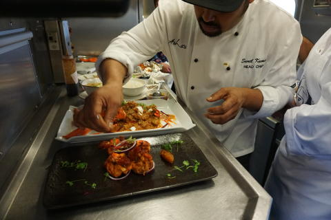 Virgin Trains becomes setting for international chef competition