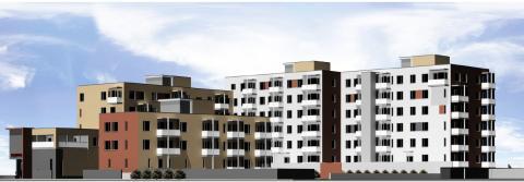 Eteran rakennuttama yli sadan asunnon kohde harjakorkeudessa Vantaalla