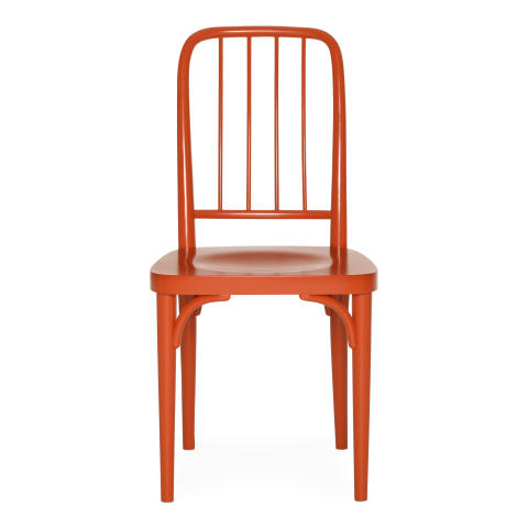 Red Bentwood Chair By Josef Frank, Also Available In Green, Black And White.