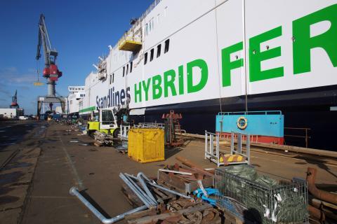 Scandlines' grønne tiltag blåstemples også på Gedser-Rostock
