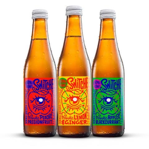 Switchel, ny kolsyrad dryck med äppelcidervinäger från Karma Drinks