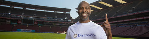 Lucas Radebe teams up with Discovery to inspire future soccer stars