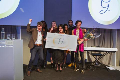 Riksorganisationen GAPF - Glöm Aldrig Pela och Fadime vinner Guldhjulet-priset 2018 för sitt arbete mot hedersrelaterat våld och förtryck