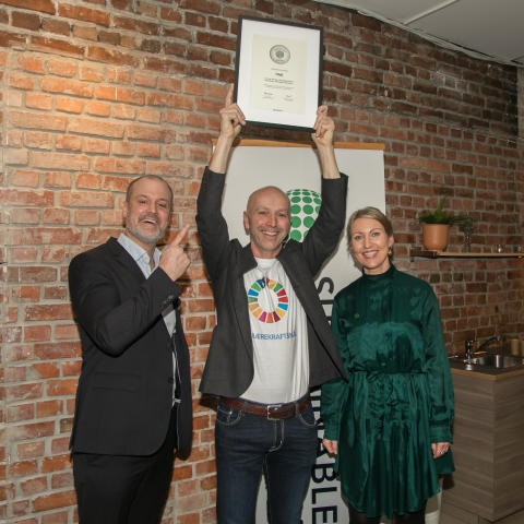 Sustainable Brand Index Awards Norway 2019
