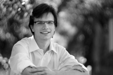 Bohumír Stehlík, pianist, tidigare student vid Kungl. Musikhögskolan och vinnare av Ljunggrenska tävlingen 2016. Foto: Jan Flieger.