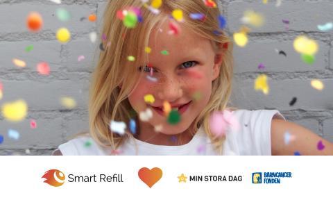Smart Refill hjälper till att sprida glädje bland sjuka barn
