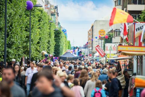 Helsingborg laddar inför årets stadsfest