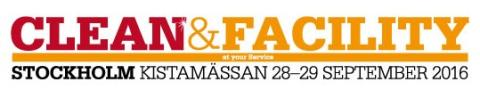 Besök oss på CLEAN-mässan i Stockholm 28-29 september