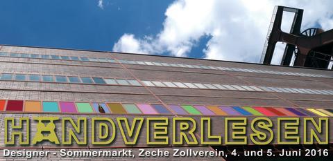Handverlesen auf Zollverein: Der außergewöhnliche Designermarkt in der Sommerausgabe