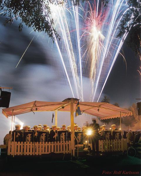 Sommarsalut med musik och fyrverkeri på fredag i Lindesberg