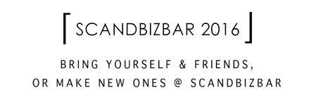 ScandBizBar 3 November 2016