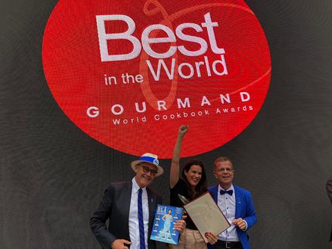 Blå kokboken – vinnare i världens största kokbokstävling