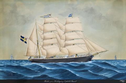 Skepp Ohoj! – skeppsporträtt och modeller ur Helsingborgs museers samling