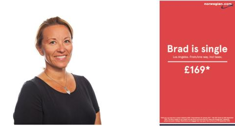 "Stine Steffensen Børke, VP Marketing at Norwegian, on the viral ad ""Brad is single"""
