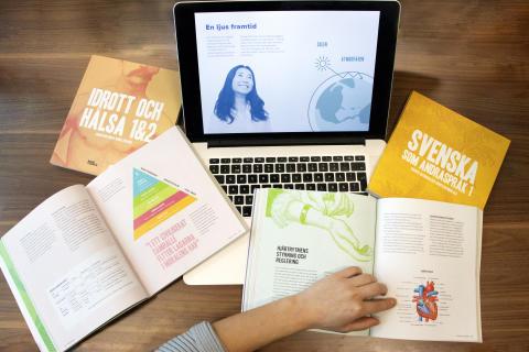NA Förlag satsar på färg och form för att underlätta inlärningen