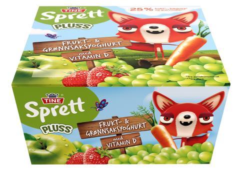 Sprett Frukt- & Grønnsaksyoghurt