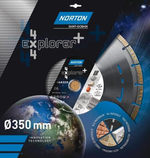 NIEUW   Norton 4x4 EXPLORER+  de multifunctionele diamantzaag_Produkt 2
