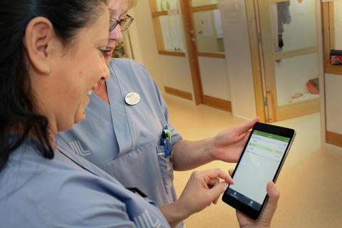 Minskad oro och stress med digital läkemedelshantering