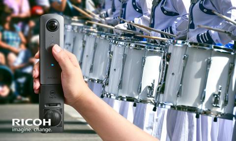 Ricoh Theta V – 4K i 360 grader, 3D-ljud och appar!