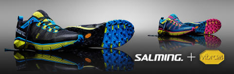 Salming teams up with Vibram, the World leader in performance outsoles.