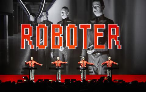 Kraftwerks 3D-show kommer till Liseberg 31 augusti