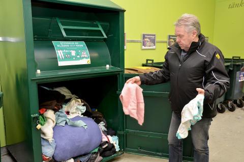 Gavlegårdarnas hyresgäster i Andersberg gör goda gärningar genom att återvinna