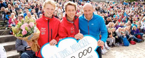 Fem finalister kan vinne 100.000 kroner