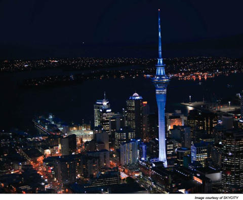 Sky Tower Nya Zeeland