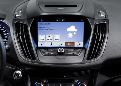 Ford uvádí do Evropy systém SYNC 3 s intuitivním ovládáním a širší podporou chytrých telefonů