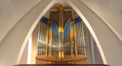 Weimbs-Orgel in der Katholischen Kirche St. Marien in Delitzsch © Felix Hoffmann