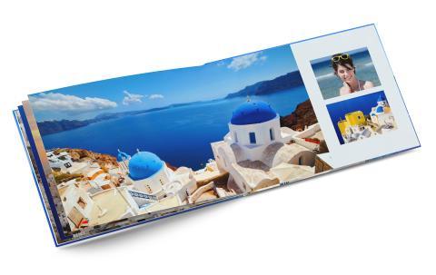 Premium-kuvakirja - matkakuvat upeasti esille