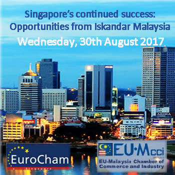30 August: Singapore's continued success: Opportunities from Iskandar Malaysia