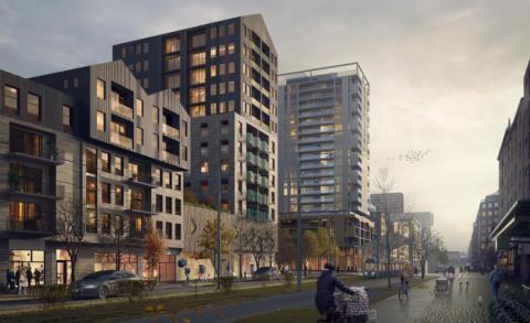 Avtal klart för Riksbyggens 500 nya bostäder vid Masthuggskajen