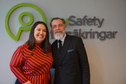 mySafety Försäkringar blir guldpartner till Börshajen Academy på Hovet – ska lära 8 000 att skydda sina investeringar