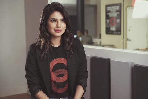 "Priyanka Chopra Jonas i ""Activate: Et globalt initiativ"""