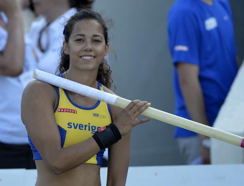 Angelica Bengtsson är klar till BAUHAUS-galan