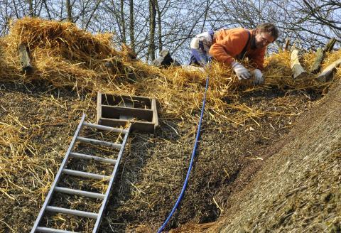 Oplev genopførslen af et hus til Håndværkets Dage
