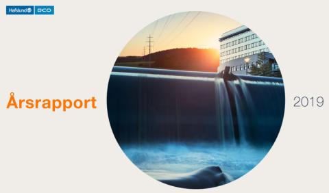 Hafslund E-CO - Årsrapport 2019 og utsettelse av utbytte 2019