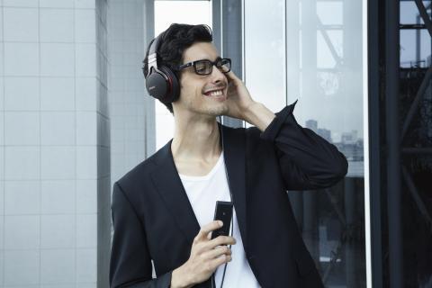 Con Sony, l'audio ad alta risoluzione scopre nuovi modi di esprimersi in movimento