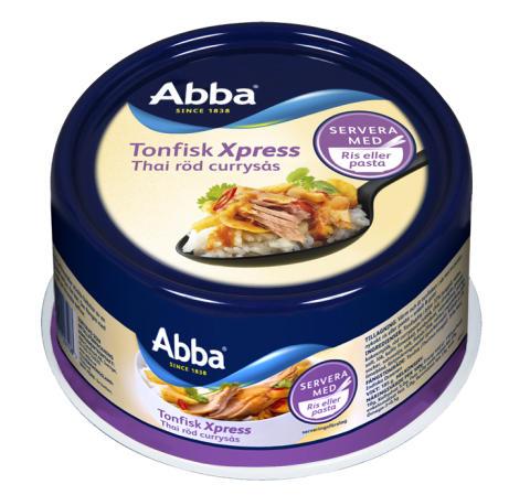 Abba Tonfisk Xpress Röd curry