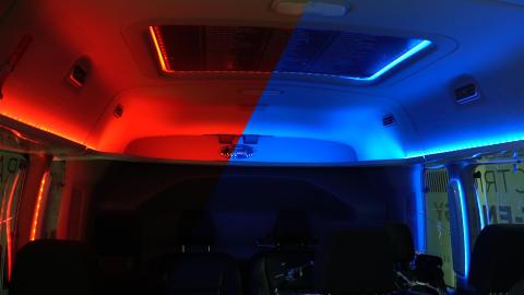 Anpassad ljussättning kan ge längre räckvidd för elbilar
