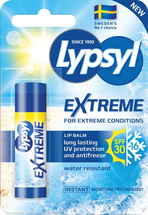 Lypsyl Extreme – fartfyllt nytillskott i Lypsyl-familjen!