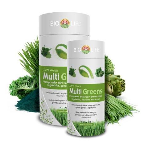 Bringwell lanserar Bio-Life Greens och Bio-Life vitamin- och mineralserie
