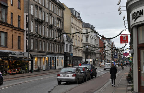 Gammel Kongevej, København, Danmark