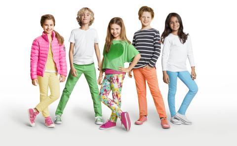 Fargerik vår 2013 på barn