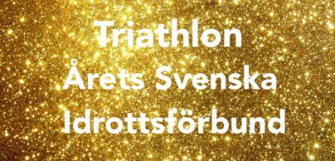 Vi är årets Svenska Idrottsförbund 2015!